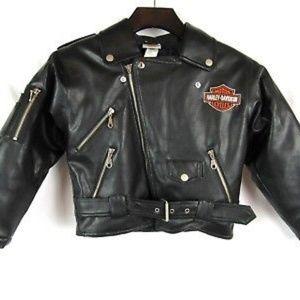 Embroidered Harley Davidson Jacket Toddler 4T